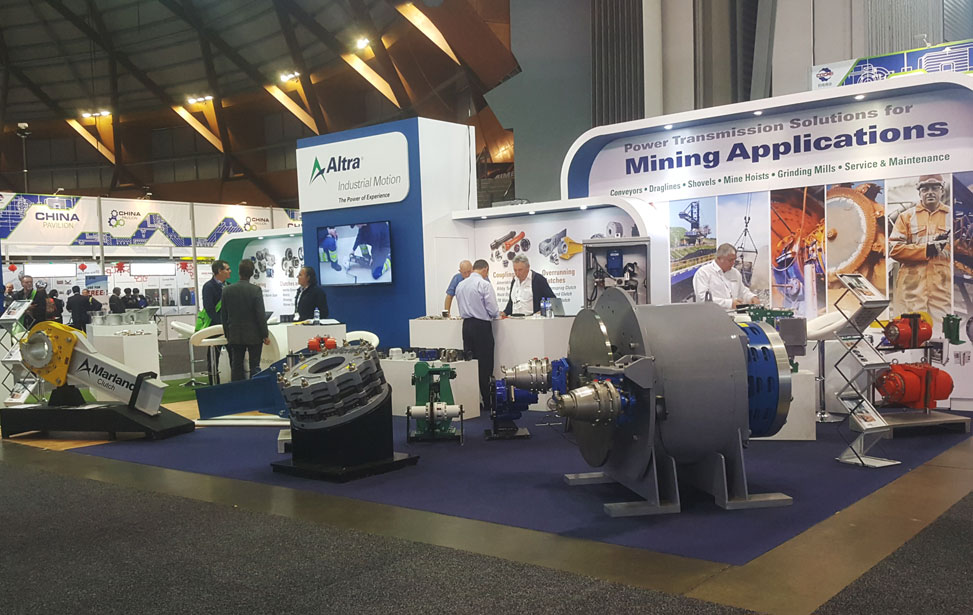 Altra Industrial Motion 2017 AIMEX Booth