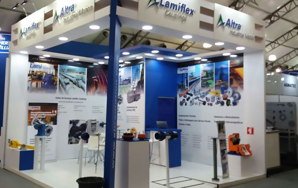 Lamiflex Booth for Fenascro and Agrocana 2016