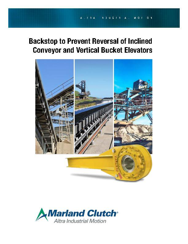 Backstop for Inclined Conveyor & Vertical Bucket Elevators