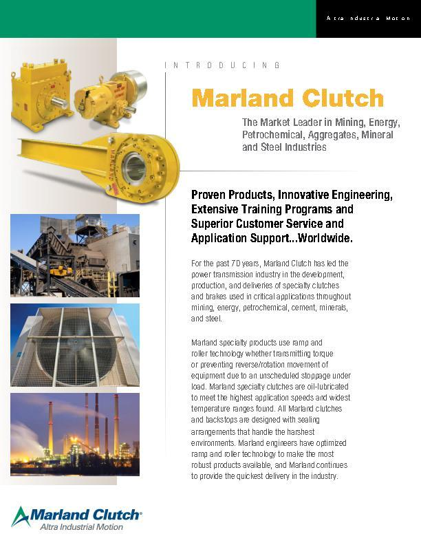 Marland Clutch Overview